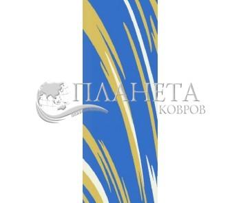Высоковорсная ковровая дорожка First Shaggy 1198 , BLUE - высокое качество по лучшей цене в Украине