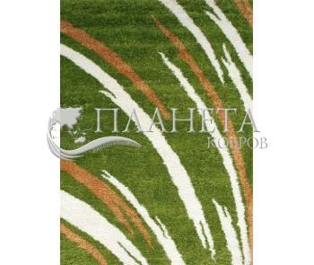 Высоковорсная ковровая дорожка First Shaggy 1198 , GREEN - высокое качество по лучшей цене в Украине