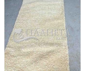 Высоковорсная ковровая дорожка Shaggy Mono 0720 карамель - высокое качество по лучшей цене в Украине