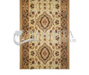 Синтетическая ковровая дорожка Almira 2304 Cream-Beige Рулон - высокое качество по лучшей цене в Украине