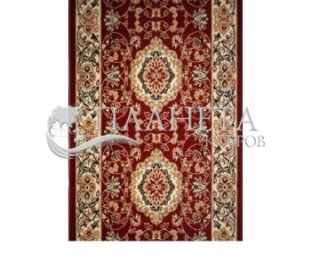 Синтетическая ковровая дорожка Almira 2304 Red-Cream - высокое качество по лучшей цене в Украине