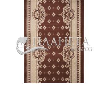 Синтетическая ковровая дорожка Almira 2356 Choko-Hardal Рулон - высокое качество по лучшей цене в Украине