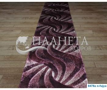 Синтетическая ковровая дорожка Daisy Carving 8478A fujya - высокое качество по лучшей цене в Украине
