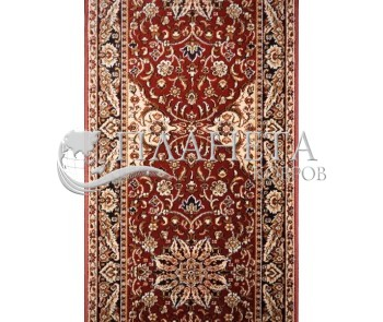 Синтетическая ковровая дорожка Topaz Brick-Red Рулон - высокое качество по лучшей цене в Украине