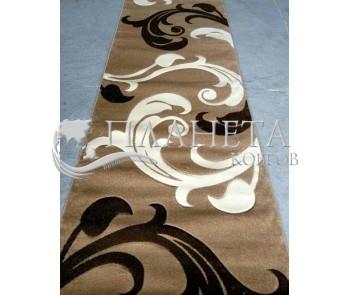 Синтетическая ковровая дорожка Legenda 0313 беж - высокое качество по лучшей цене в Украине