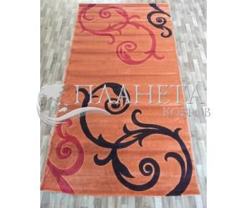 Синтетический ковер Melisa 395 orange - высокое качество по лучшей цене в Украине