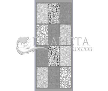 Синтетическая ковровая дорожка Rana 7085 , GREY - высокое качество по лучшей цене в Украине