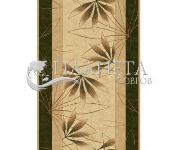 Синтетическая ковровая дорожка Selena / Lotos 552-130 green - высокое качество по лучшей цене в Украине