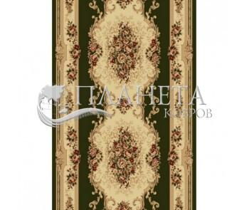 Синтетическая ковровая дорожка Selena / Lotos 574-310 green - высокое качество по лучшей цене в Украине