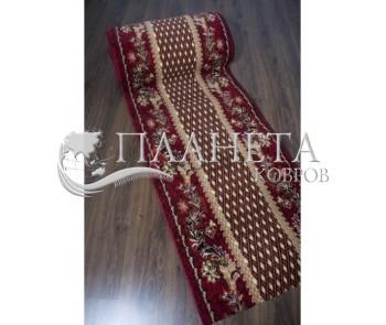 Синтетическая ковровая дорожка Silver 158 , RED - высокое качество по лучшей цене в Украине