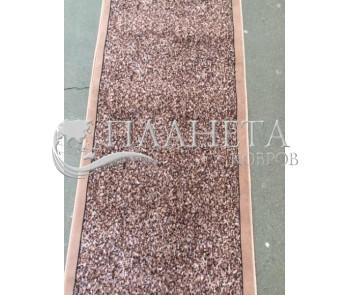 Синтетическая ковровая дорожка Silver bezkanta brown - высокое качество по лучшей цене в Украине