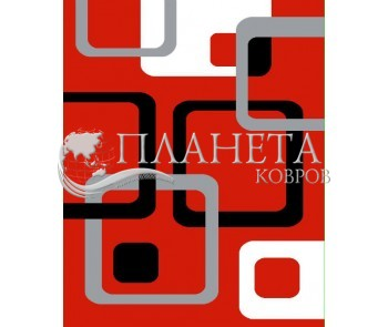 Синтетическая ковровая дорожка Soprano 12282 , RED - высокое качество по лучшей цене в Украине