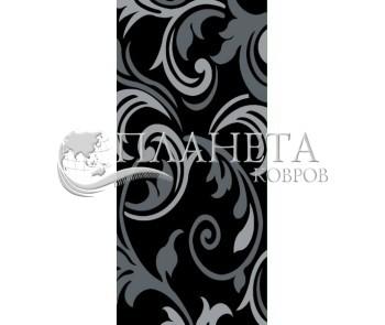 Синтетическая ковровая дорожка Soprano 1702 , BLACK - высокое качество по лучшей цене в Украине