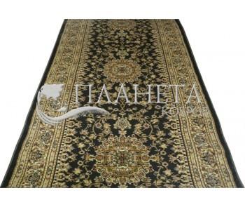 Синтетическая ковровая дорожка Super Elmas 0937A d.green-ivory - высокое качество по лучшей цене в Украине