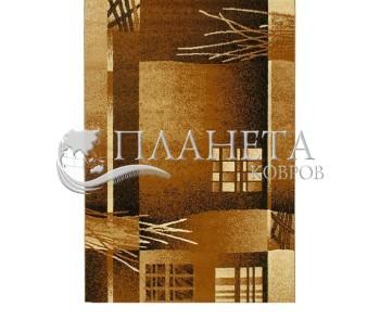 Синтетическая ковровая дорожка Super Elmas 3007A d.green-ivory - высокое качество по лучшей цене в Украине