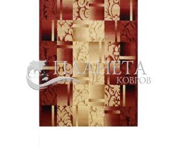 Синтетическая ковровая дорожка Super Elmas 5131C ivory-d.red - высокое качество по лучшей цене в Украине
