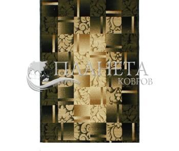 Синтетическая ковровая дорожка Super Elmas 5131C ivory-d.green - высокое качество по лучшей цене в Украине