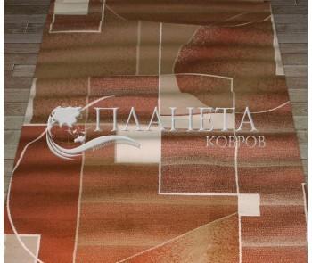 Синтетическая ковровая дорожка Super Elmas 1563A brown-brown - высокое качество по лучшей цене в Украине