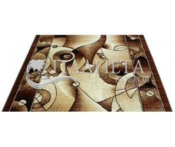 Синтетическая ковровая дорожка Tabriz 4887A berber-d.brown - высокое качество по лучшей цене в Украине