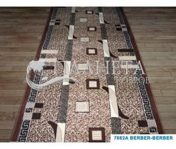 Синтетическая ковровая дорожка Tabriz 7882A berber-berber - высокое качество по лучшей цене в Украине