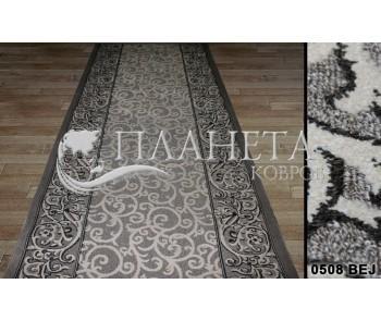 Синтетическая ковровая дорожка Tibet 0508 bej - высокое качество по лучшей цене в Украине