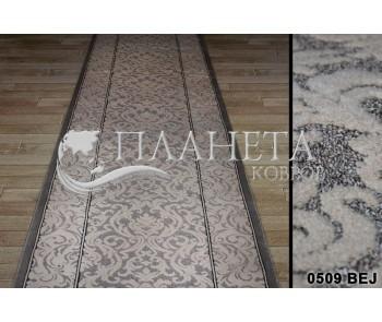 Синтетическая ковровая дорожка Tibet 0509 bej - высокое качество по лучшей цене в Украине