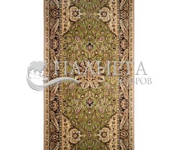Синтетическая ковровая дорожка Topaz Grreen Rulon - высокое качество по лучшей цене в Украине