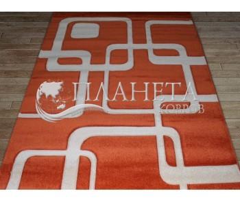 Синтетическая ковровая дорожка Tuna New 5280A orange - высокое качество по лучшей цене в Украине