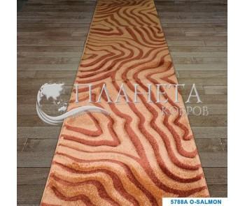 Синтетическая ковровая дорожка Tuna New 5288A salmon - высокое качество по лучшей цене в Украине