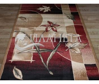 Синтетическая ковровая дорожка Tutku 6452A d.red-d.beige - высокое качество по лучшей цене в Украине