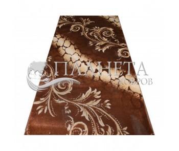 Синтетическая ковровая дорожка Tutku 7920A d.brown-l.beige - высокое качество по лучшей цене в Украине