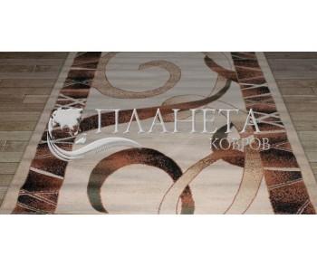 Синтетическая ковровая дорожка Tutku 6449A ivory-brown - высокое качество по лучшей цене в Украине