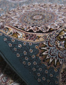 Персидский ковер Kashan 620-LBL blue - высокое качество по лучшей цене в Украине.