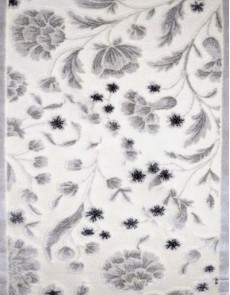 Акриловый ковер Lalee Ambiente 800 white-silver - высокое качество по лучшей цене в Украине.