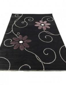 Акриловый ковер Florya 0029 siyah - высокое качество по лучшей цене в Украине.