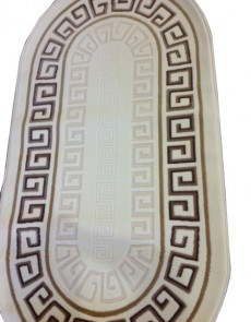 Акриловый ковер Istanbul 8076 cream-brown - высокое качество по лучшей цене в Украине.