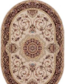 Акриловый ковер Kerman 0811C Cream-Red - высокое качество по лучшей цене в Украине.