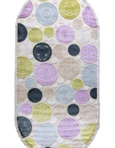 Акриловый ковер Lilium X019C Violet - высокое качество по лучшей цене в Украине.