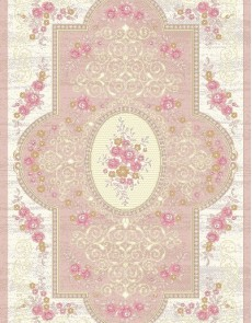 Иранский ковер Savin Mode 1500-Pink - высокое качество по лучшей цене в Украине.