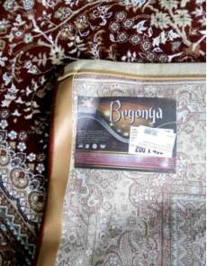 Высокоплотный ковер Begonya 0925 bordo - высокое качество по лучшей цене в Украине.