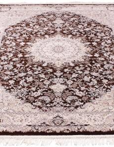 Высокоплотный ковер Esfahan 7786A d.brown-ivory - высокое качество по лучшей цене в Украине.