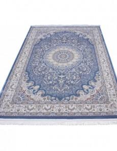 Высокоплотный ковер Esfahan 9724A blue-ivory - высокое качество по лучшей цене в Украине.