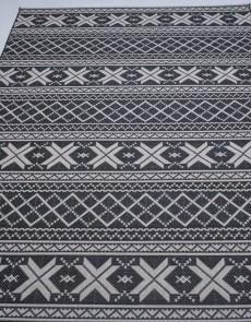 Безворсовый ковер Jersey Home 6727 wool-black-E518 - высокое качество по лучшей цене в Украине.