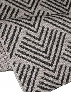 Безворсовый ковер Natura 20575 Silver-Black - высокое качество по лучшей цене в Украине.
