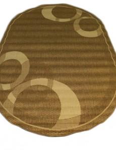 Безворсовый ковер Sisal 00026 gold-cream - высокое качество по лучшей цене в Украине.