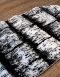 Високоворсний килим 3D Polyester B117 CREAM-BLACK - высокое качество по лучшей цене в Украине.