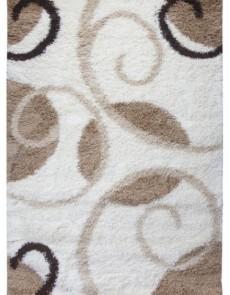 Високоворсна килимова доріжка First Shaggy 12277 , CREAM - высокое качество по лучшей цене в Украине.