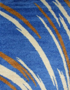 Високоворсна килимова доріжка First Shaggy 1198 , BLUE - высокое качество по лучшей цене в Украине.
