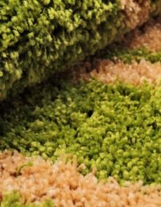 Високоворсна килимова доріжка First Shaggy 1198 , GREEN - высокое качество по лучшей цене в Украине.