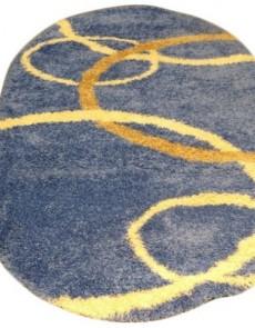 Высоковорсный ковер Gold Shaggy 8018 blue - высокое качество по лучшей цене в Украине.